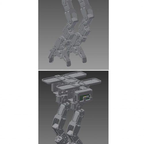 Robot BipedoBot v1